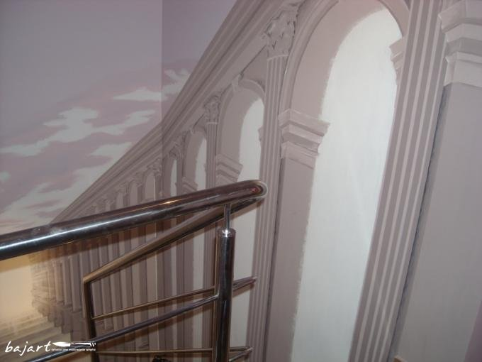 Pomysł na dekoracje schodów
