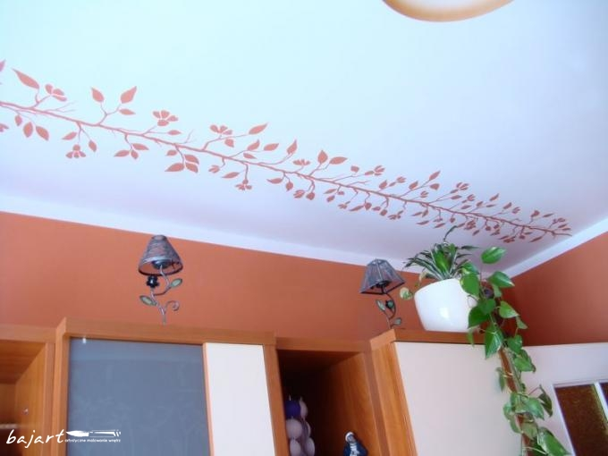 dekoracja sufitu