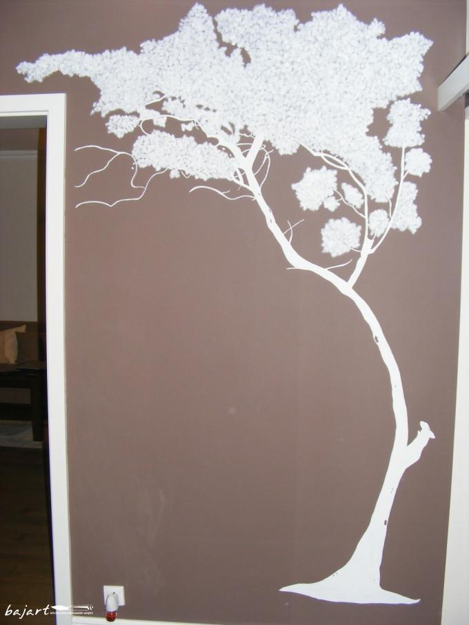 Drzewo- dekoracja ściany