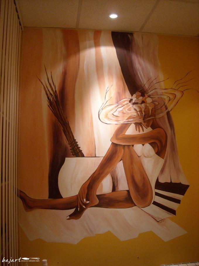 Malowana postać kobiety