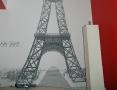 5-metrowa wieża Eiffla- ręcznie malowana