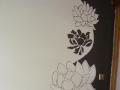 Ornament kwiatowy - dekoracja ściany