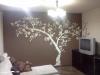 Dekoracja ściany - drzewo