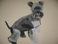 dekoracja ściany- portret psa