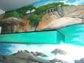 Malowane półki- krajobraz morski
