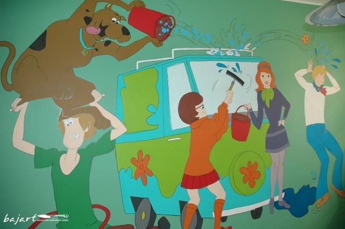 Scooby Doo w pokoju dziecka