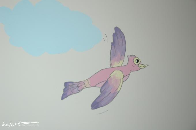 Bajkowy ptak