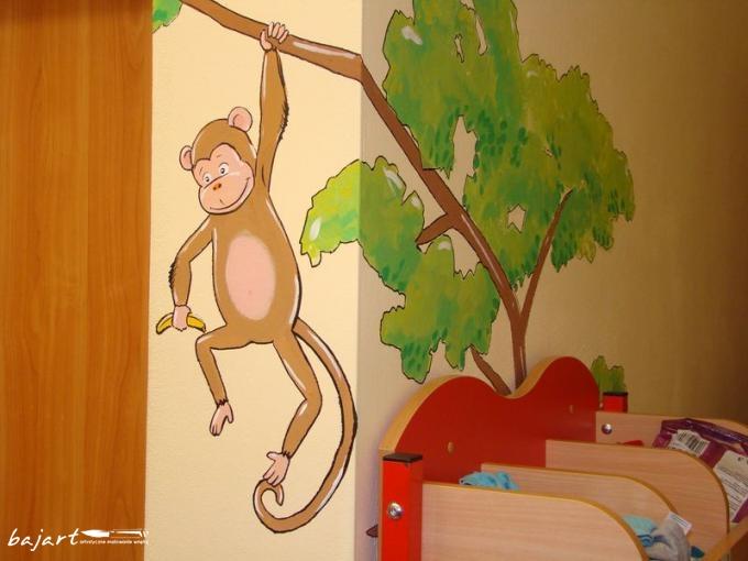 Kolorowa małpka