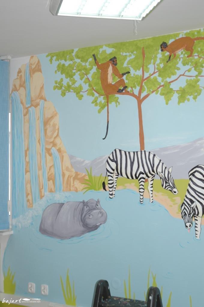 Zebry - pasiasta dekoracja