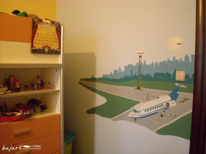 Lotnisko w pokoju Twojego dziecka