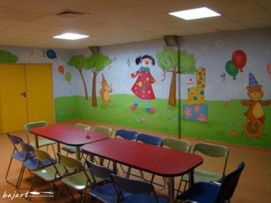 Kolorowa i wesoła sala dla dzieci