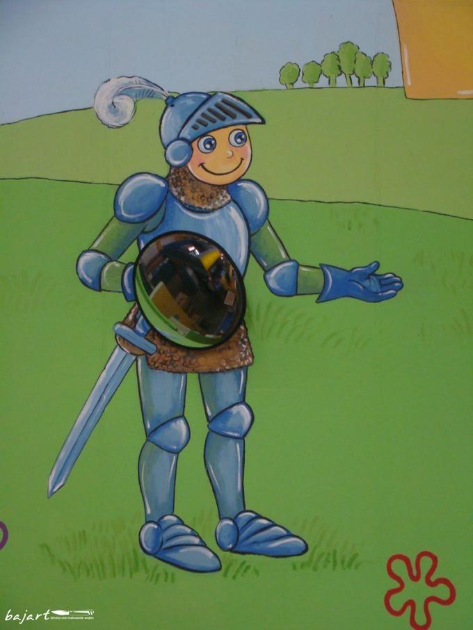 malowany rycerz