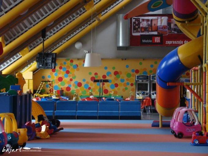 dekoracja sali zabaw