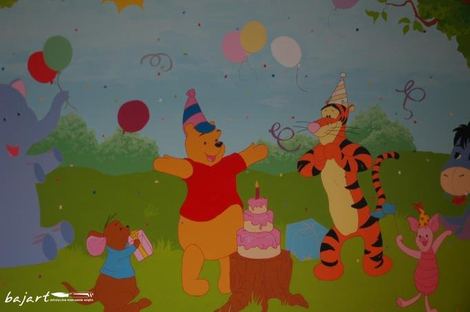 Przyjęcie urodzinowe Kubusia