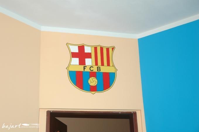 herb klubu FC BARCELONA