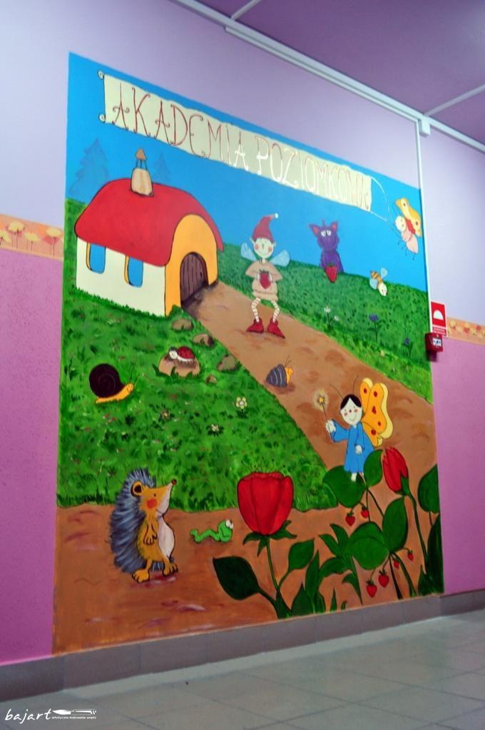 obraz na ścianie w przedszkolu