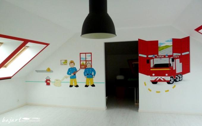 remiza artystyczne malowanie ścian