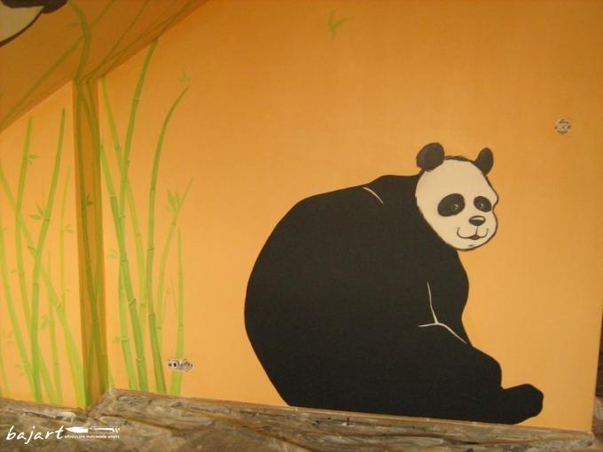 dekoracja ściany- motyw zwierzęcy