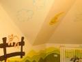 artystyczne malowanie -pokój maluszka