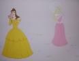 Księżniczki w pokoju dziewczynki