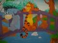 Artystyczne malowanie w pokoju dziecka