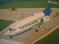 Malowany samolot