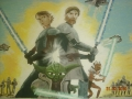 Obi van Kanobi, Anakin i mistrz Yoda
