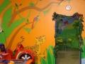 Dekoracja ściany - sala zabaw