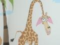 żyrafa -dekoracja ściany