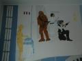 Chewbacca, Leie, Han Solo i roboty