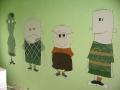Włatcy móch - malunek na ścianie