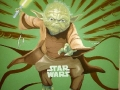 Yoda - malnek w pokoju chłopca