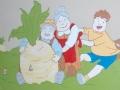 Rzepka Tuwima malowana w przedszkolu