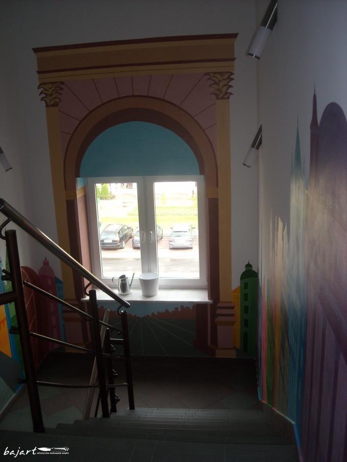 Dekoracja szkoły