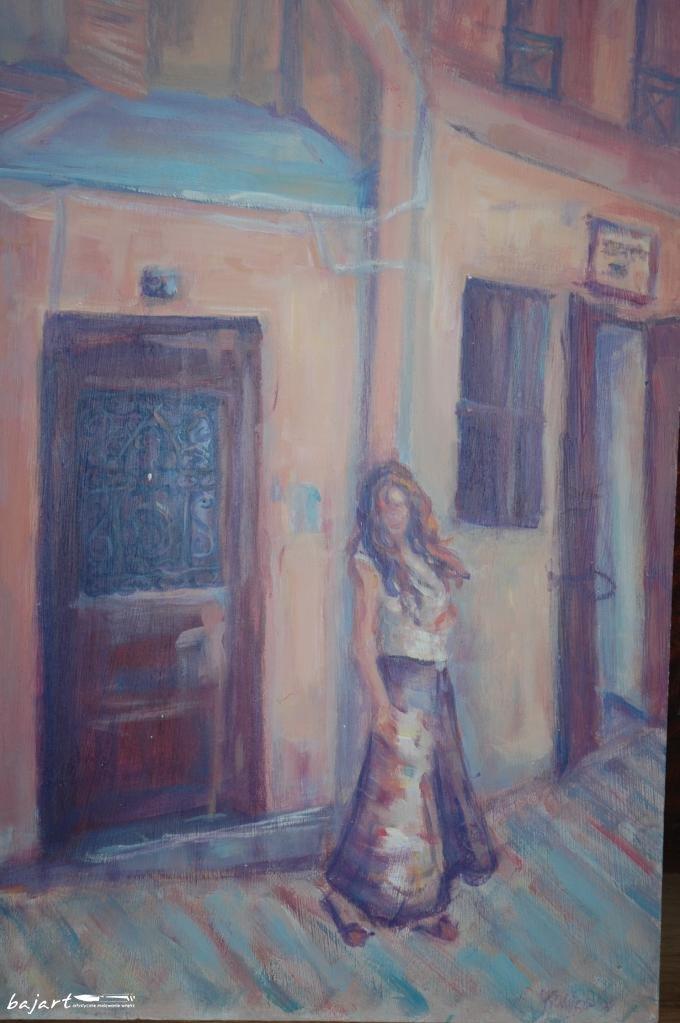 Dziewczyna na rogu ulicy
